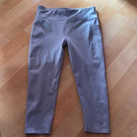 1aa4a2ed931 Light Blue Gray Yoga Pants